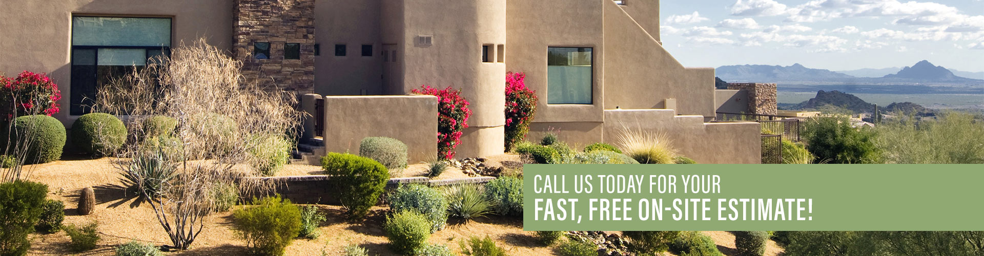 Landscape Design Contractor In Tucson Hardscaping